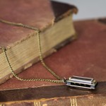 Harmonica Necklace on Chain
