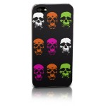 Flouro Skulls iPhone case - iPhone 4 and 5